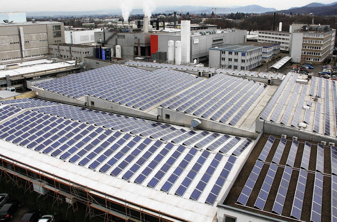 Das neue Micronas-Sonnenkraftwerk soll...ch 175 Tonnen Kohlendioxid einsparen.   | Foto: Privat