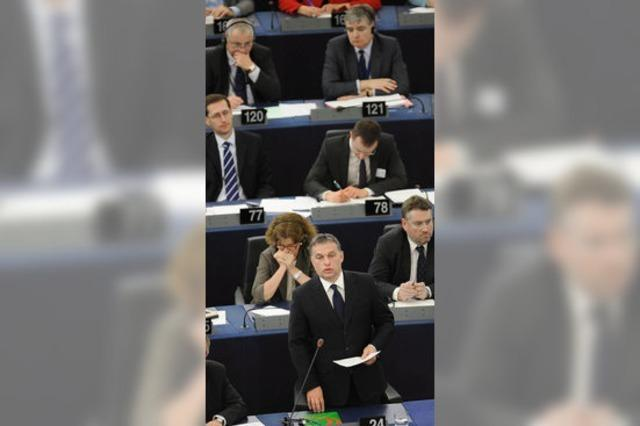 Fragestunde mit Viktor Orban