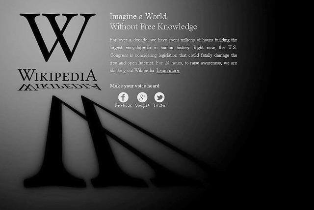 Englischsprachige Wikipedia blockiert Zugang
