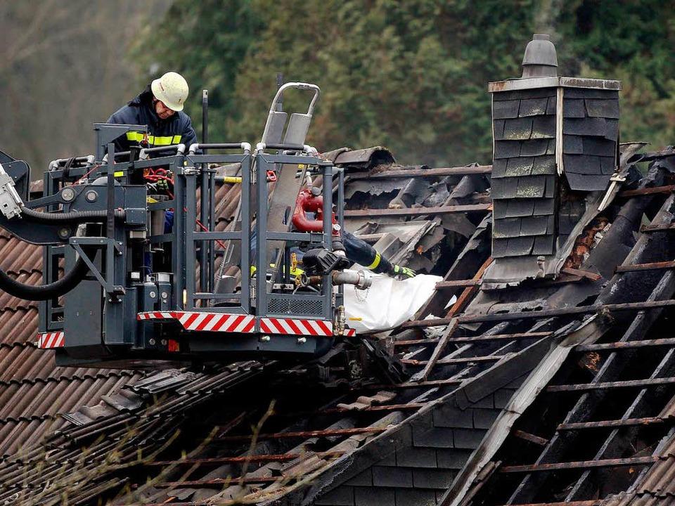 Drei Kinder  sterben bei Hausbrand in Aachen.  | Foto: dpa