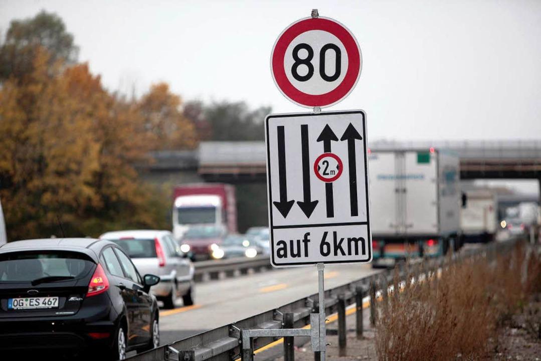 In der Ortenau kommt es in den Baustellen der A5 zu vielen Unfällen.  | Foto: ycb