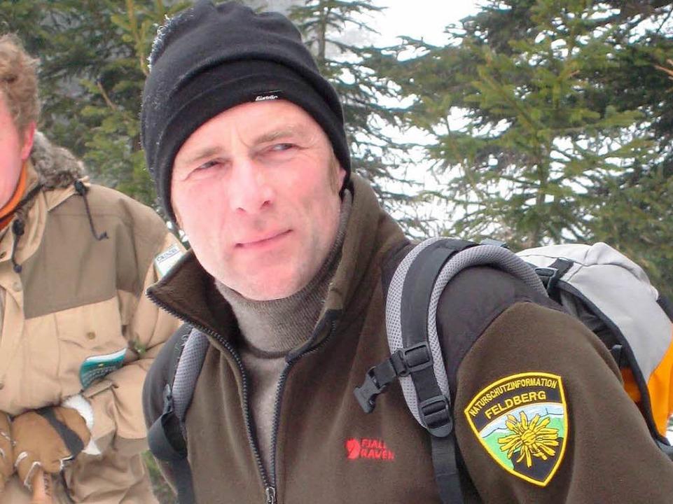 Stefan Büchner ist Naturschützer und Schneeschuhwanderer.   | Foto: privat