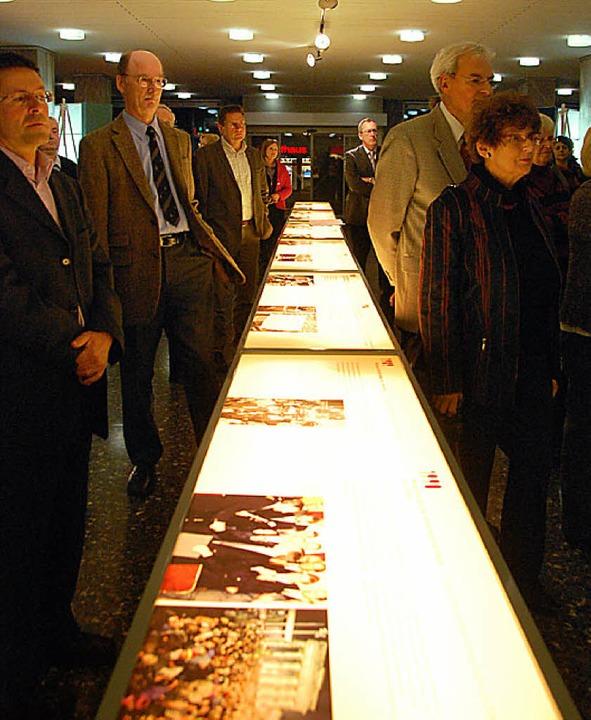 Viele  Gäste kamen zur Eröffnung der Stasi-Ausstellung.     | Foto: Frey
