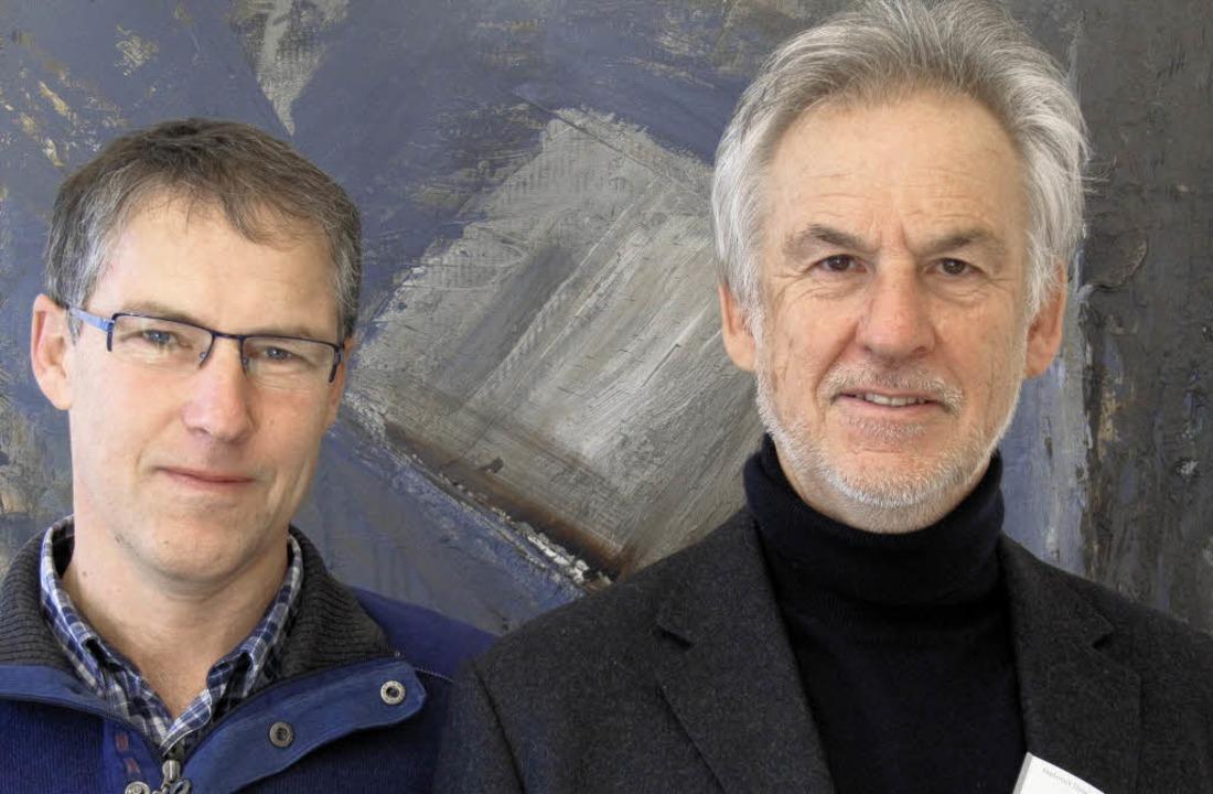 Peter Jehle (links) und Helmut Unseld   | Foto: Tanja Bury