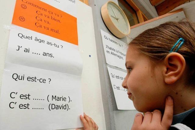 Überfordert Fremdsprachenunterricht Erstklässler?