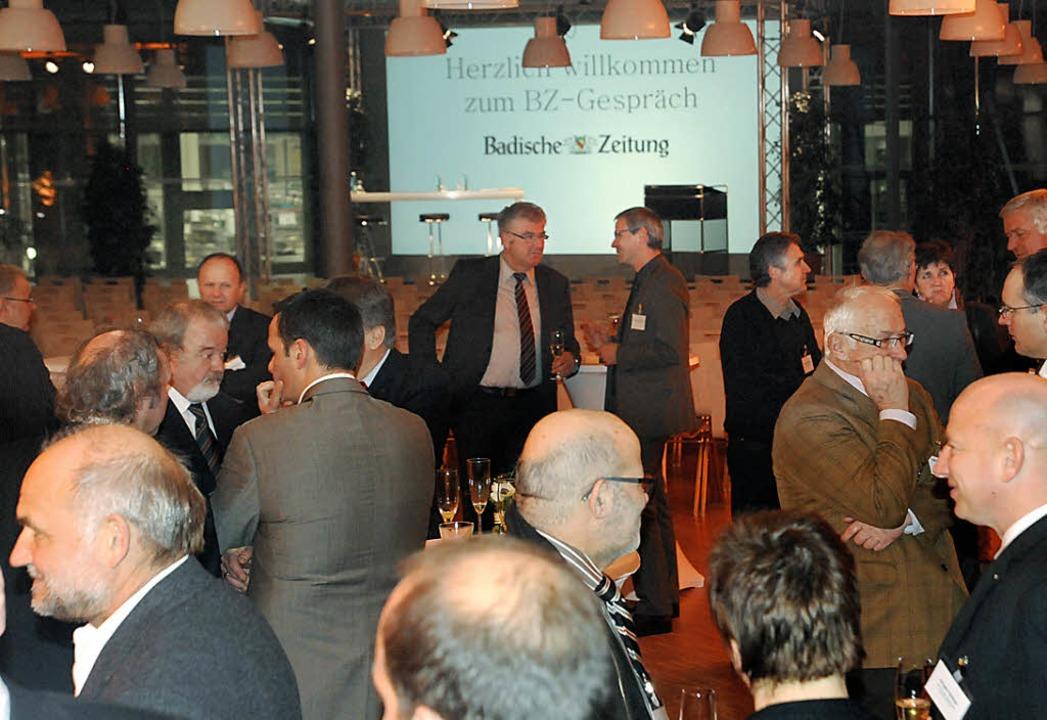 Die BZ lädt und viele kommen  | Foto: Markus Zimmermann