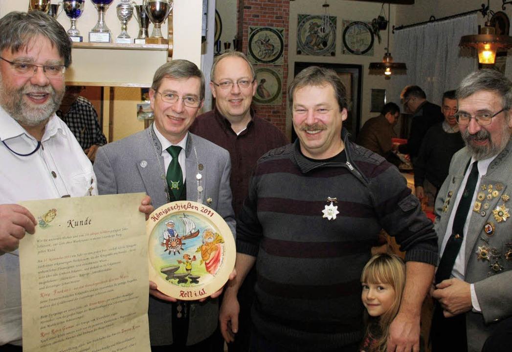 Siegfried Woywod,                     ...s) bei der Zeller Schützenmeisterkür.   | Foto: Privat