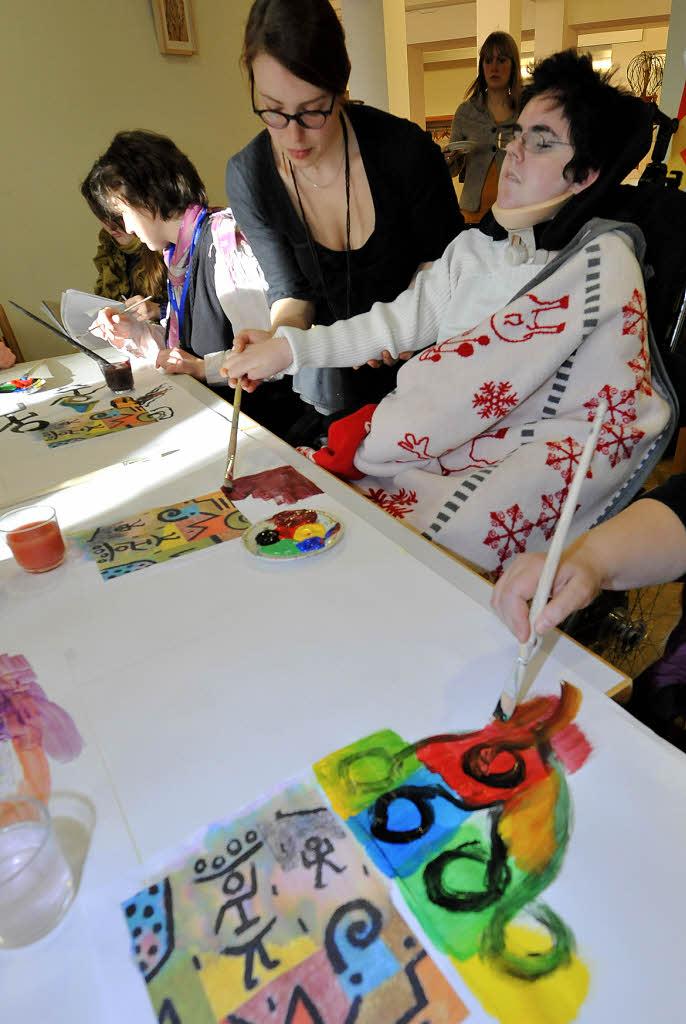 Kunsttherapie sorgt f r ein wenig spa im durchger ttelten for Leben mit wenig besitz