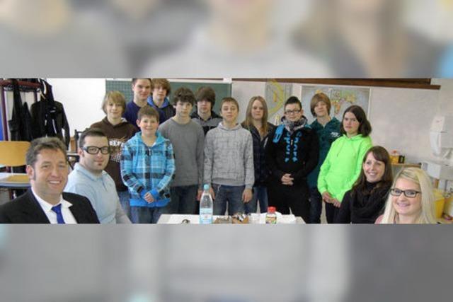 Bewerbungstraining für Werkrealschüler