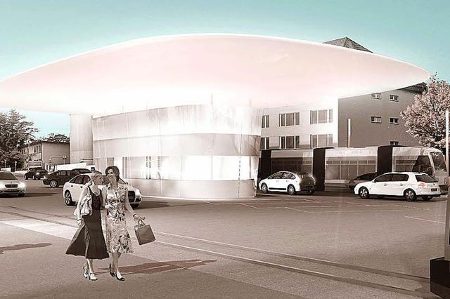 Friedlinger Zollgebäude verschwindet im Juli, Neubau folgt bis April