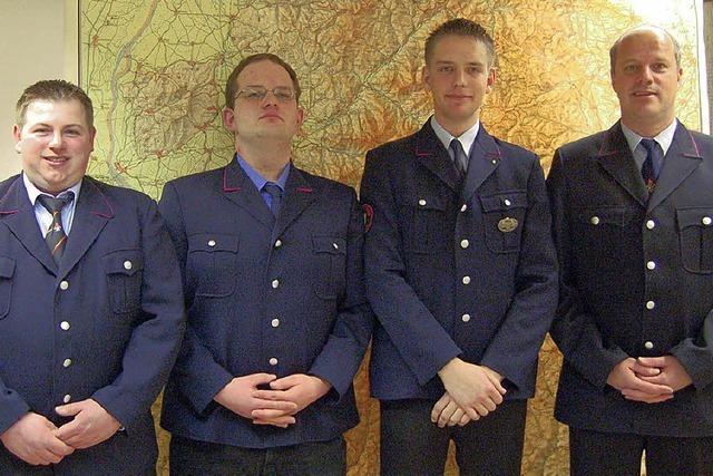 Feuerwehr Hogschür mit neuer Führung