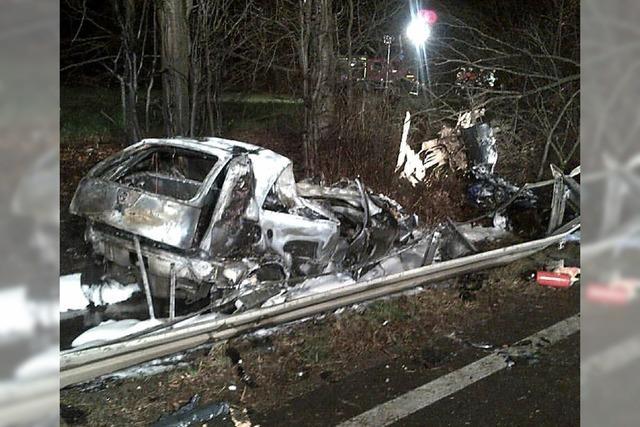 Zwei Tote bei Unfall auf der B 3 bei Gundelfingen