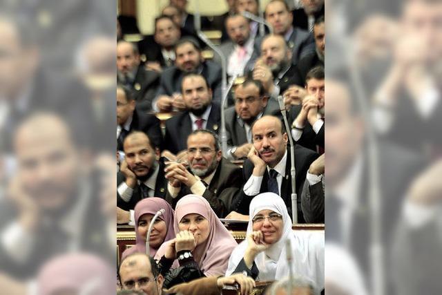 Turbulenzen im neugewählten Parlament