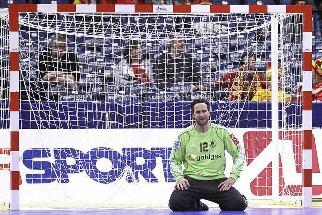26:28 - den deutschen Handballern fehlen zwei Tore