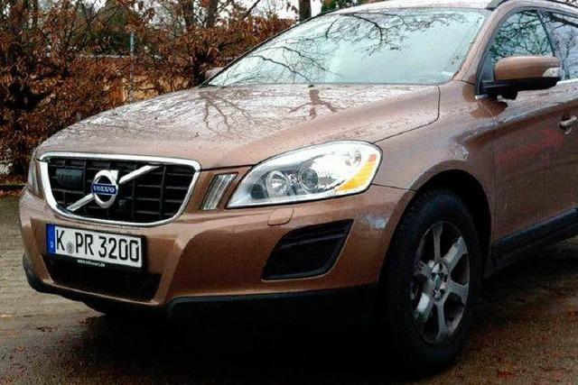 XC60 DRIVe – hochgelegter Schwedenstahl mit Sparvorteil