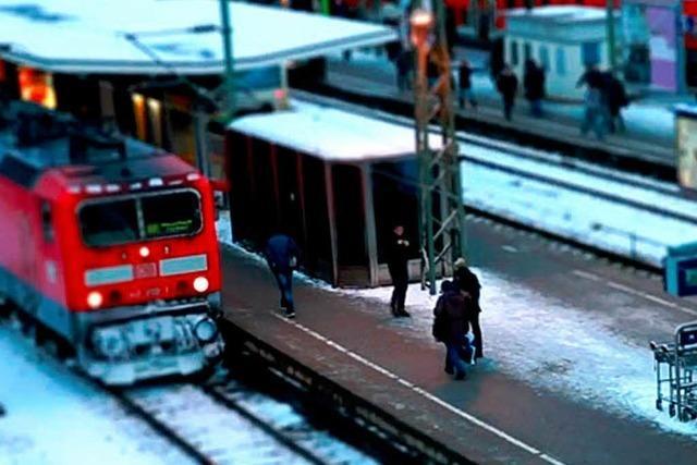 Freiburg hat den zweitpünktlichsten Bahnhof Deutschlands