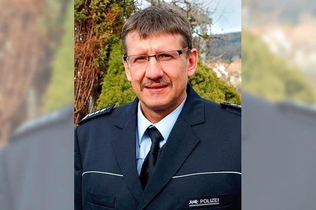 Ein neuer Chef fürs Polizeirevier
