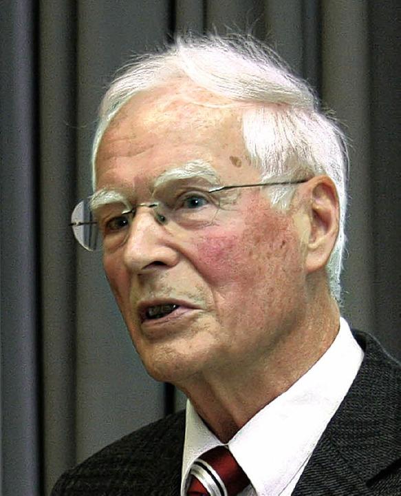 Hartmut Kübler neuer Ehrensenator  | Foto: hochschule