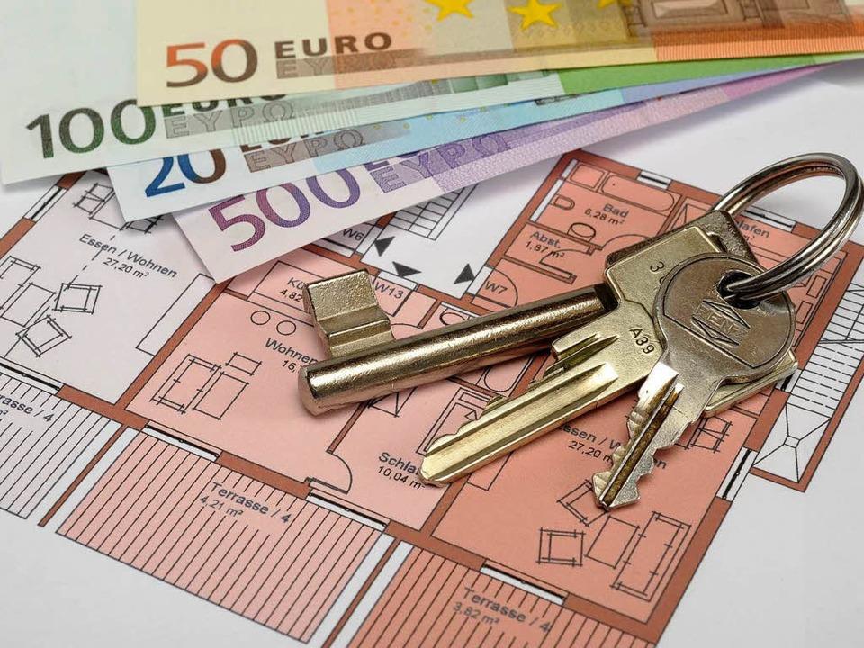 Betrug mit Wohnungsschlüsseln – ...reiburg grassiert diese Betrugsmasche.  | Foto: Kautz15 - Fotolia