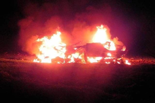 Tödlicher Feuerunfall auf der B3: Weitere Hinweise auf Rennen