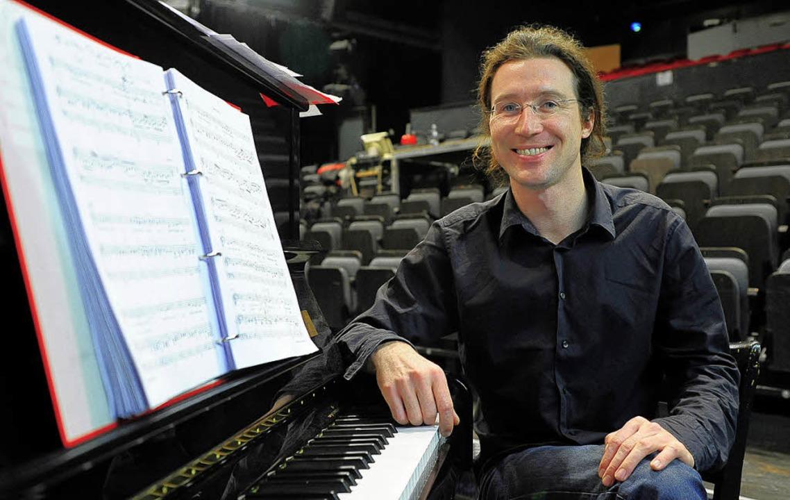 Etwas revolutionär am Klavier: Nikolaus Reinke   | Foto: Thomas Kunz