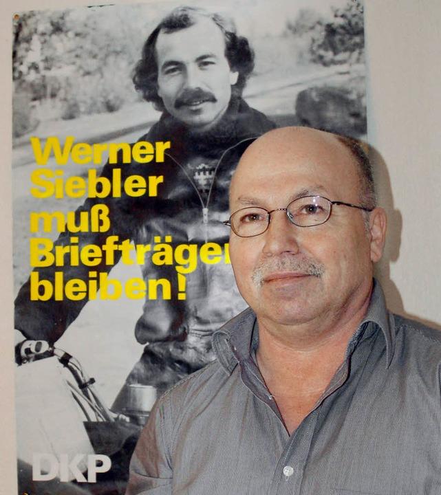 Als DKP-Mitglied durfte Siebler keine Briefe austragen  | Foto: franz schmider