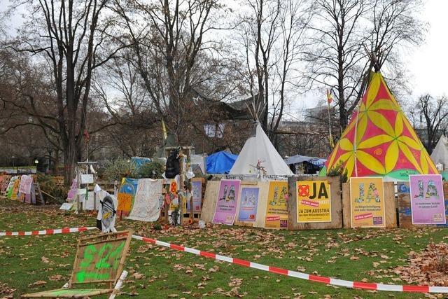 Stuttgart 21: Verwaltungsgericht gibt grünes Licht für Räumung