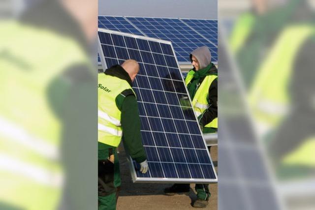 Förderung für Solarstrom