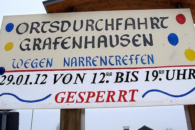 Grafenhausen wird zum Narrennest