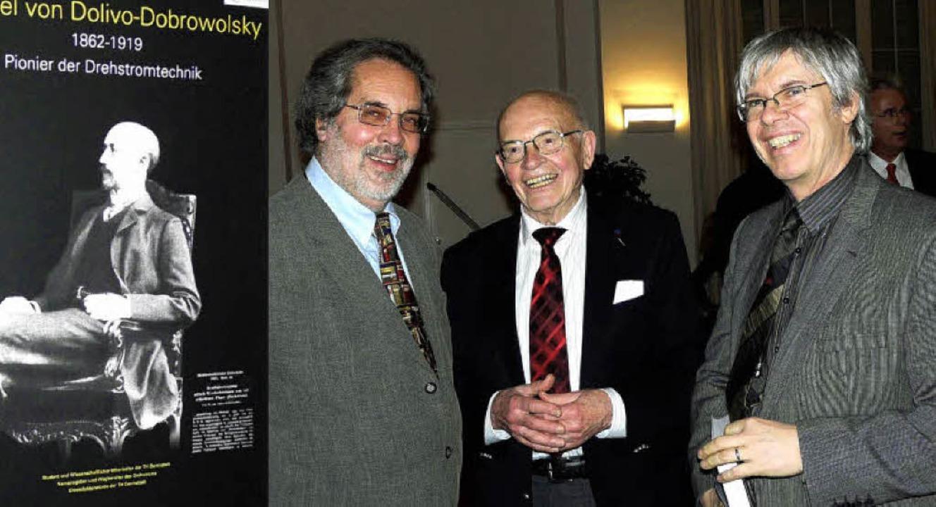 Waren bei der Feier des 150. Geburtsta..., Gerhard Neidhöfer und Kurt Beretta.   | Foto: privat