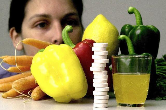 Werbung für gesundes Essen