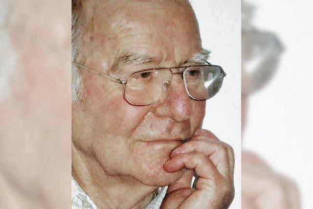 Josef Strittmatter ist tot - er brachte die Realschule auf den Weg