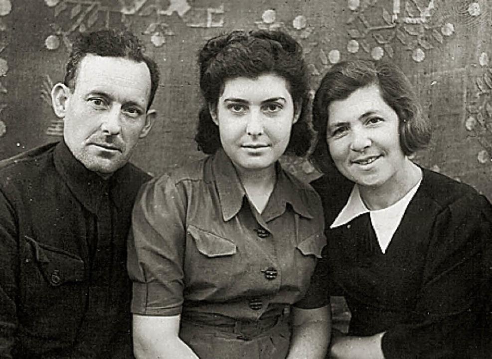 Die im Buch befragte Elena Tanezer im ... Charkov (ukrainische Sowjetrepublik).  | Foto: privat