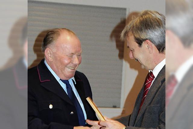 Herbert Scheer 50 Jahre bei der Wehr