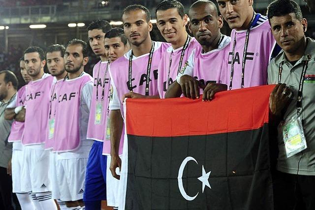 Von der Front ins Stadion - Libyen beim Afrika-Cup