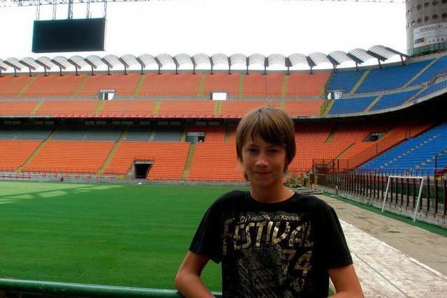 Junger Neustädter kickt für Dynamo-Fans