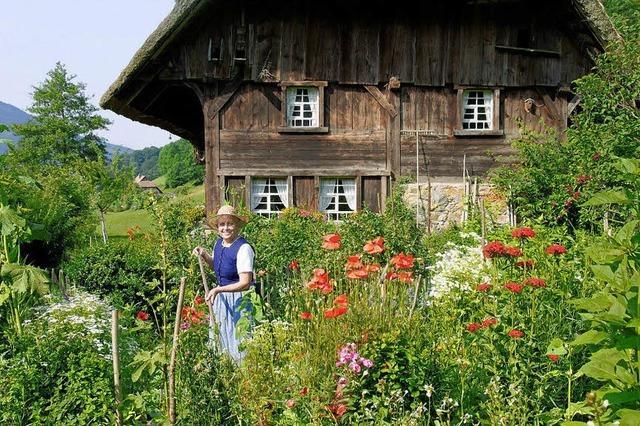 Bildervortrag über die blühenden Gärten im Schwarzwald