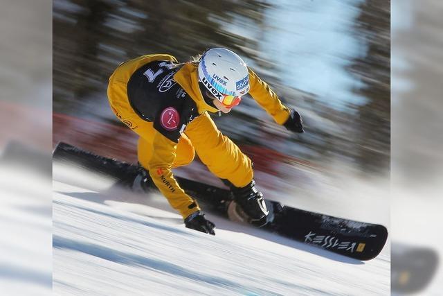 Die Snowboard-Mama
