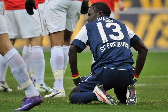 Rot gegen Mainz – Diagné für ein Spiel gesperrt