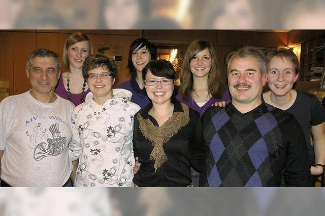 Neues Dreiergespann leitet den Musikverein