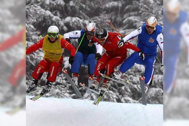 Skicross-Festival in Urach