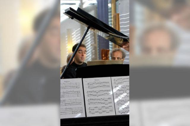 Demonstration pianistischer Kunst ohne jegliche Allüren