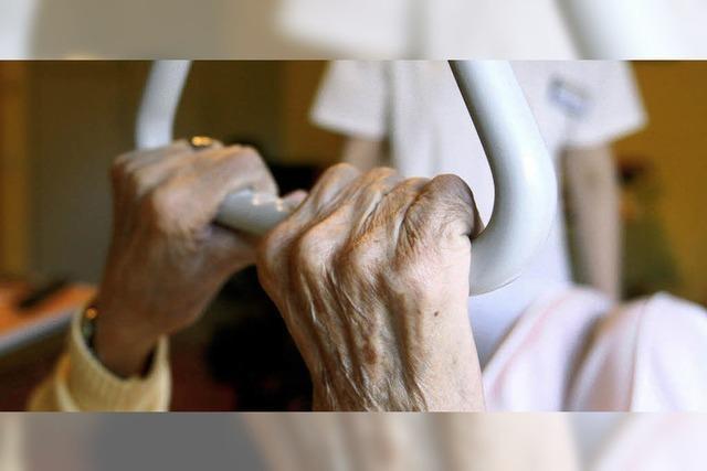 Weniger Defizit im Altenpflegeheim