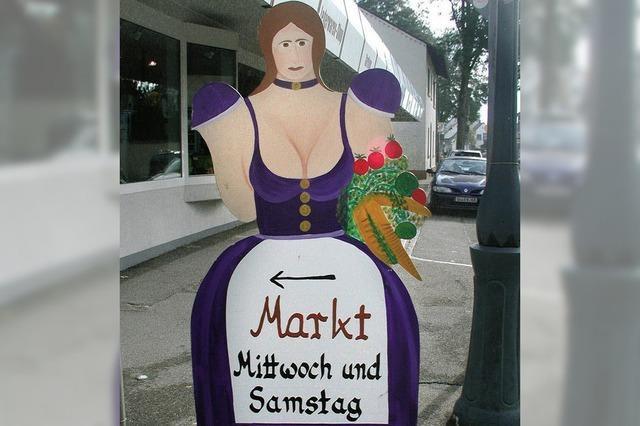Wochenmarkt zieht um