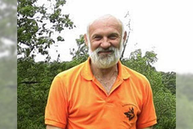 Hundesportler Hansjürgen Geiger geehrt