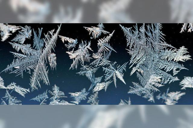 Kälteeinbruch in Südbaden: Rekordverdächtig kalt?