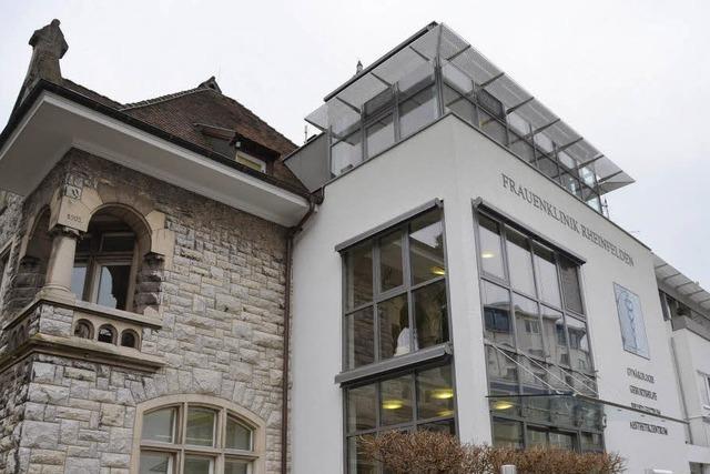 Heute schließt die Rheinfelder Frauenklinik