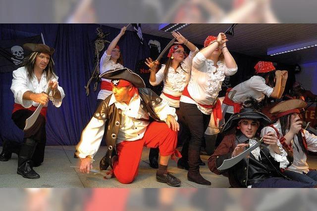 Flotte Tänze, wilde Piraten