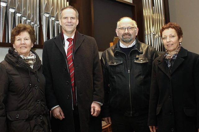 Spende für Orgelsanierung