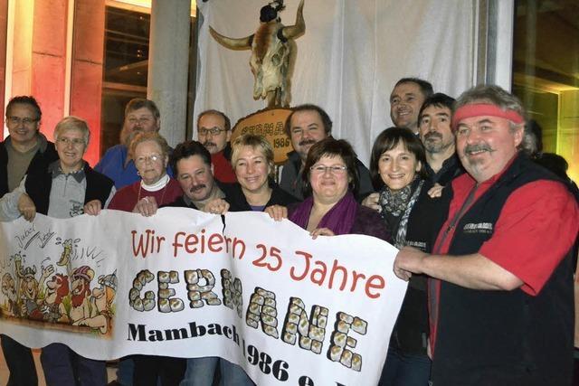 Fröhliche Germanen 25 Jahre in Aktion